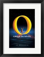 "Framed Cirque du Soleil - ""O"", c.1998"