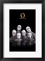 "Framed Cirque du Soleil - ""O"", c.1998 (zebras)"