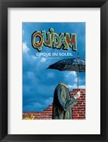 Framed Cirque du Soleil - Quidam, c.1996
