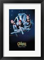 Framed Cirque du Soleil - Quidam, c.1996 (ariel hoops)