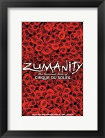 Framed Cirque du Soleil - Zumanity, c.2003