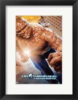 Framed Fantastic Four: Rise of the Silver Surfer - Thing