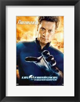 Framed Fantastic Four: Rise of the Silver Surfer - Mister Fantastic