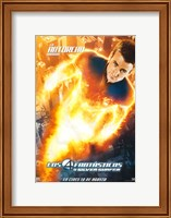 Framed Fantastic Four: Rise of the Silver Surfer - Human Torch