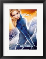 Framed Fantastic Four: Rise of the Silver Surfer - Susan Storm