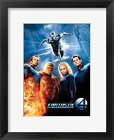 Framed Fantastic Four: Rise of the Silver Surfer Movie Poster