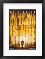 Framed I Am Legend - The last man on earth is not alone