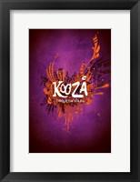Framed Cirque du Soleil - Kooza, c.2007