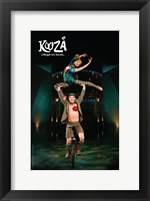 Framed Cirque du Soleil - Kooza, c.2007 (unicycle duo)