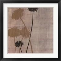Framed Linen I