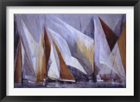 Framed Ocean Regatta