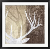 Framed Deer Lodge II