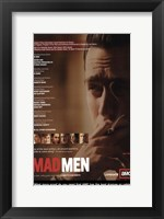 Framed Mad Men (TV) Jon Hamm