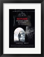 Framed Sweeney Todd: The Demon Barber of Fleet Street