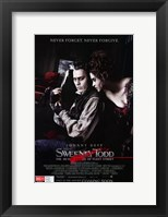 Framed Sweeney Todd Never Forget Never Forgive