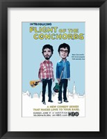 Framed Flight of the Conchords TV Series