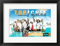 Framed Top Chef cast poster
