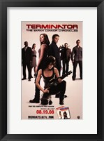Framed Terminator: The Sarah Connor Chronicles - style D