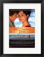 Framed Becoming Jane Orange