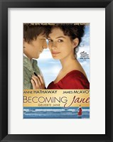 Framed Becoming Jane Blue