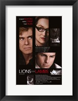 Framed Lions For Lambs