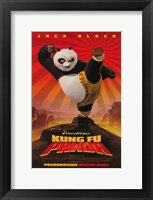 Framed Kung Fu Panda Begins Soon