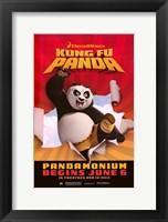 Framed Kung Fu Panda Pandamonium