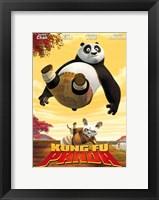 Framed Kung Fu Panda Uh Oh!