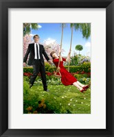 Framed Pushing Daisies Ned Swinging Charolette