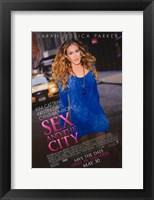 Framed Sex and The City: The Movie - Sarah Jessica Parker