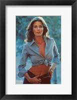 Framed Linda Carter