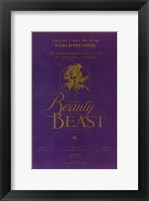 Framed Beauty and The Beast (Broadway)