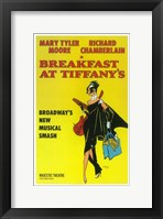 Framed Breakfast at Tiffanys (Broadway)