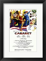 Framed Cabaret (Broadway) Colorful