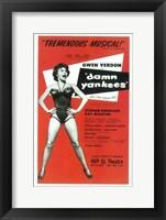 Framed Damn Yankees (Broadway)