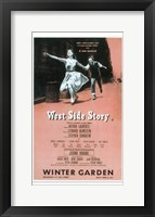 Framed West Side Story (Broadway)