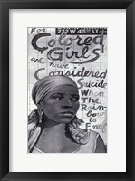 Framed For Colored Girls Who Have Considered Suicide/When the Rainbow is Enuf (Broadway)
