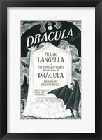Framed Dracula (Broadway), c.1977