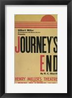 Framed Journey's End (Broadway)