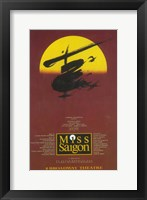 Framed Miss Saigon (Broadway)