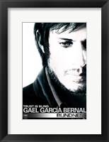 Blindness Gael Garcia Bernal Framed Print
