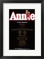 Framed Annie (Broadway) - style A