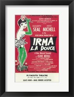 Framed Irma La Douce (Broadway) - The Sweetheart of Musical