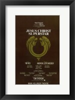 Framed Jesus Christ Superstar (Broadway)
