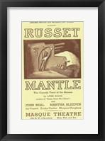 Framed Russet Mantle (Broadway)