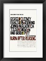 Framed Burn After Reading