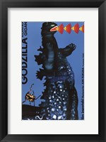 Framed Godzilla vs. Gigan