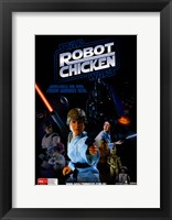 Framed Robot Chicken: Star Wars