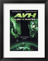 Framed AVH: Alien vs. Hunter