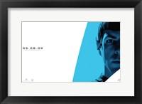 Framed Star Trek XI - Spock - style C